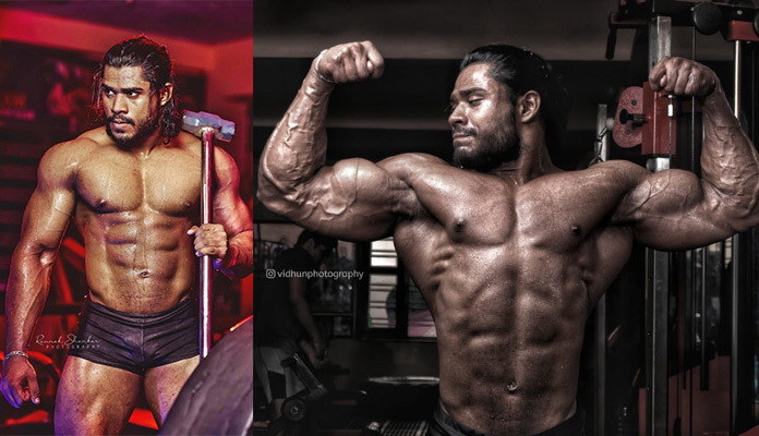 champion bodybuilder Filgith Ramesh from Thiruvalla